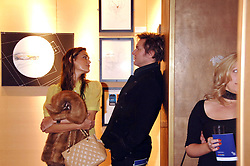 SIMON & YASMIN LE BON at a party to celebrate the first year of ING's sponsorship of the Renault Formula 1 team, held at the Mayfair Hotel, Stratton Street, London W1 on 28th November 2007.<br />