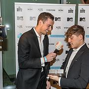 NLD/Amsterdam/20171106 - MTV Pre party 2017, Lil Kleine geeft interview aan RTL Boulevard