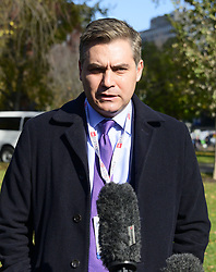 November 16, 2018 - Washington, District of Columbia, U.S. - CNN White House Correspondent Jim Acosta returns to work at the White House in Washington, DC after obtaining a judgement returning his hard pass to him on Friday, November 16, 2018  (Credit Image: © Ron Sachs/CNP via ZUMA Wire)