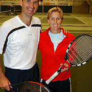 Tennisclinic Hilversum Open 2004, Jacco Eltingh en Amanda Hopman