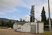 Israel, Upper Galilee, Exterior of an Air Raid Shelter