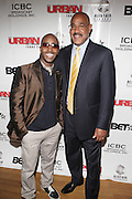 l to r: Kwame and Charles Warfield at The Urban Network Magazine and Alistair Entertainment V.I.P Reception honoring Stephen Hill & Charles Warfield & theCelebration of Urban Network's 21st Anniversary held at the Canal Room on May 13, 2009 in New York City .
