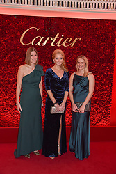 Left to right, Pippa Roome, guest and Jen Donald at The Cartier Racing Awards 2018 held at The Dorchester, Park Lane, England. 13 November 2018. <br /> <br /> ***For fees please contact us prior to publication***