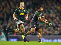 Rugby Union - 2017 Guinness Series (Autumn Internationals) - Ireland vs. South Africa<br /> <br /> Bundee Aki in action for Ireland, at the Aviva Stadium.<br /> <br /> COLORSPORT/KEN SUTTON