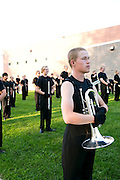 Shadow Armada performs at their home show in Oregon, Wisconsin on June 30, 2013.