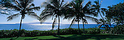 Wailea, Makena, Kahoolawe in background, Maui, Hawaii<br />