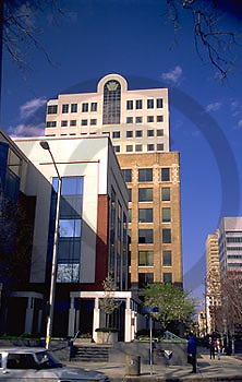 Harrisburg, PA, Cityscapes, Market Street, Penn Mutual Insurance