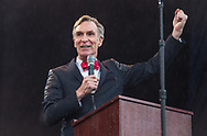 Bill Nye speaking at a rally before the March for Science in Washignton D.C.  on Earth Day