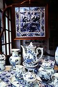 Delft china, Delft, Holland.