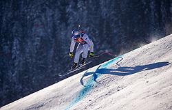 22.01.2019, Streif, Kitzbühel, AUT, FIS Weltcup Ski Alpin, Abfahrt, Herren, 1. Training, im Bild Dominik Paris (ITA) // Dominik Paris (ITA) during the 1st Training of mens downhill of FIS Ski Alpine Worldcup at the Streif in Kitzbühel, Austria on 2019/01/22. EXPA Pictures © 2019, PhotoCredit: EXPA/ Johann Groder