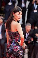 Nicole Warne at the premiere gala screening of the film Suspiria at the 75th Venice Film Festival, Sala Grande on Saturday 1st September 2018, Venice Lido, Italy.