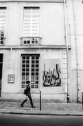 Images from the series Streetwalker: Europe. A series of black and white street photography from a trip to Barcelona, Madrid, Lisbon, Paris, and London in October 2002.