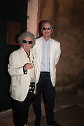 MAGGI HAMBLING; HUW MONK, Sarah Lucas- Scream Daddio party hosted by Sadie Coles HQ and Gladstone Gallery at Palazzo Zeno. Venice. 6 May 2015.
