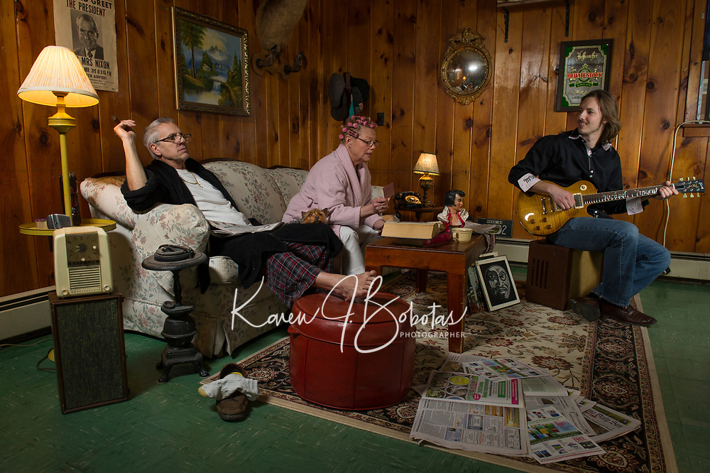 """Michael Vincent Band """"Mama's Rockin'"""" promo.  ©2018 Karen Bobotas Photographer"""