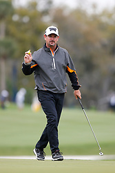 March 16, 2019 - Ponte Vedra Beach, FL, U.S. - PONTE VEDRA BEACH, FL - MARCH 16: Rory Sabbatini of Slovakia reacts to a putt on the 14th hole during the third round of THE PLAYERS Championship on March 16, 2019 on the Stadium Course at TPC Sawgrass in Ponte Vedra Beach, Fl. (Photo by David Rosenblum/Icon Sportswire) (Credit Image: © David Rosenblum/Icon SMI via ZUMA Press)