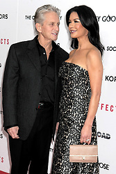 Side Effects New York Premiere. Actors Michael Douglas and Catherine Zeta-Jones attend the premiere of Side Effects at AMC Loews Lincoln Square, New York City , USA, January 31, 2013. Photo by Imago / i-Images...UK ONLY