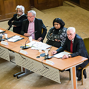 Tariq Ali, Deepa Govindarajan Driver, Ewen Macaskill, John McDonnell - A rally is held at Convocation Hall, Westminster in support of Julian Assange. Belmarsh Tribunal will expose the atrocities committed by the US government over the past decade, from war crimes in Iraq to torture at Guantánamo Bay. The event takes its inspiration from the Russell-Sartre Tribunal of 1966, when representatives of 18 countries gathered to hold the United States accountable for its war crimes in Vietnam, in the absence of an international authority that dared to do so. Tariq Ali, who took part in the 1966 Tribunal.