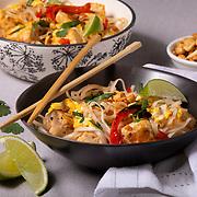 Tofu Pad Thai. Nathan Lambrecht/Journal Communications