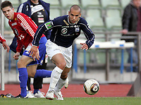 Fotball<br /> Norge<br /> 13.09.2010<br /> Foto: Morten Olsen, Digitalsport<br /> <br /> Andredivisjon <br /> Skeid v Kristiansund BK 2:1<br /> <br /> Mahmoud El-Haj - KBK