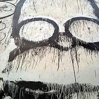 Homer Head mural