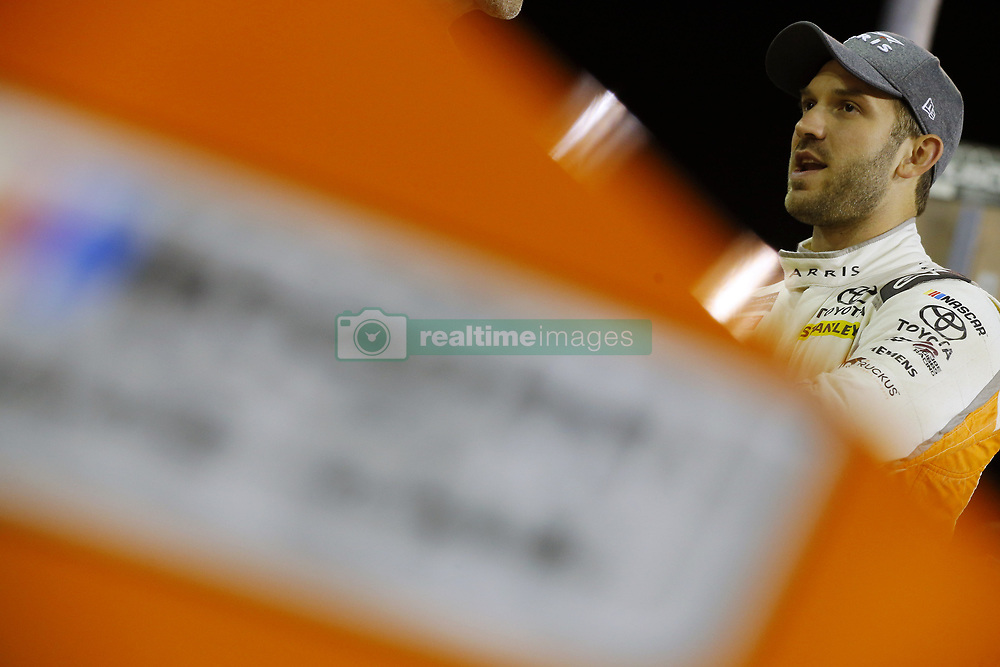 November 16, 2018 - Homestead, Florida, U.S. - Daniel Suarez (19) hangs out on pit road before qualifying for the Ford 400 at Homestead-Miami Speedway in Homestead, Florida. (Credit Image: © Chris Owens Asp Inc/ASP)