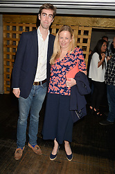 TOM FABER and ASTRID HARBORD at the launch of Geisha at Ramusake hosted by Piers Adam and Marc Burton at Ramusake, 92B Old Brompton Road, London on 11th June 2015.
