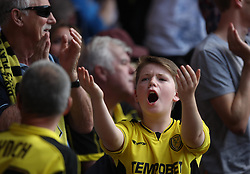 Burton Albion fans - Mandatory by-line: Jack Phillips/JMP - 06/08/2016 - FOOTBALL - The City Ground - Nottingham, England - Nottingham Forest v Burton Albion - EFL Sky Bet Championship