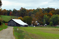 24 October 2017:  Rustic barns.<br /> <br />  Parke County Indiana is the site of the Indiana Covered Bridge Festival every October