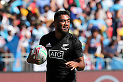 Vilimoni Koroi on his way to scoring during Day 3 of the HSBC World Rugby Sevens, Mens Semi Final match between New Zealand and Fiji, 2019, Spotless Stadium, Saturday 3rd February 2019. Copyright Photo: David Neilson / www.photosport.nz