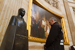 Gary Allen's Maine to DC run; day-after tour of the Capitol building at MLK statue