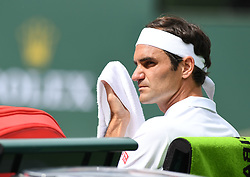 March 10, 2019 - Palm Desert, California, Usa - Tennis : BNP Paribas Open 2019 - Roger Federer - Suisse (Credit Image: © Panoramic via ZUMA Press)