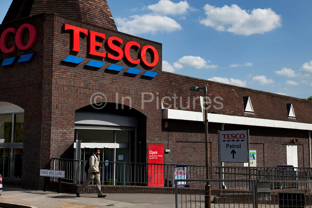 Tesco supermarket store. Tesco plc is a global grocery and general merchandise retailer headquartered in the United Kingdom. It is the third-largest retailer in the world measured by revenues and the second-largest measured by profits. It has stores in 14 countries across Asia, Europe and North America and is the grocery market leader in the UK (where it has a market share of around 30%). The company was founded by Jack Cohen in 1919 and opened its first store in 1929. It is a controversial success story in retail as it is often accused of strangling the market and pushing out smaller businesses and retailers.