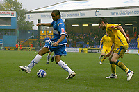 Oli Johnson. Stockport County FC 1-2 Colchester United FC. Coca-Cola League 1. 18.8.08