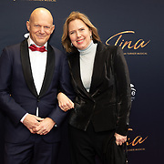 NLD/Utrecht/20200209 - Start inloop Tina Turner musical, Minister Cora van Nieuwenhuizen met partner Bert Wijbenga