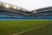 Stadium during the The FA Cup 3rd round match between Manchester City and Rotherham United at the Etihad Stadium, Manchester, England on 6 January 2019.