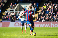 Crystal Palace (9) Aleksander Sorloth during the Premier League match between Crystal Palace and Tottenham Hotspur at Selhurst Park, London, England on 25 February 2018. Picture by Sebastian Frej.