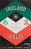 Rugby 1966 - 12/03 Five Nations Ireland Vs Wales
