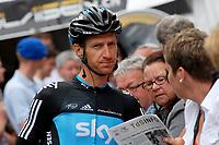 Sykkel<br /> 13.06.2011<br /> Foto: imago/Digitalsport<br /> NORWAY ONLY<br /> <br /> Kurt Asle ARVESEN ( NOR / SKY Pro Cycling Team ) vor dem Start zur 3.Etappe - Event: Tour de Suisse - Tour of SWitzerland 2011 - 3.Etappe - Brig Gils - Grindelwald 107.6 km