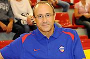 DESCRIZIONE : Lizzano in Belvedere Lega A 2013-14 Granarolo Virtus Bologna PBC CSKA Moskow <br /> GIOCATORE : Coach Ettore Messina<br /> SQUADRA : PBC CSKA Moskow <br /> EVENTO : PRECampionato Lega A 2013-2014<br /> GARA :  Granarolo Virtus Bologna PBC CSKA Moskow<br /> DATA : 17/09/2013<br /> CATEGORIA : Coach <br /> SPORT : Pallacanestro<br /> AUTORE : Agenzia Ciamillo-Castoria/A.Giberti<br /> Galleria : Lega Basket A 2013-2014<br /> Fotonotizia : Lizzano in Belvedere Lega A 2013-14 Granarolo Virtus Bologna PBC CSKA Moskow  <br /> Predefinita :