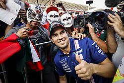 October 27, 2017 - Mexico-City, Mexico - Motorsports: FIA Formula One World Championship 2017, Grand Prix of Mexico, ..#11 Sergio Perez (MEX, Sahara Force India F1 Team) (Credit Image: © Hoch Zwei via ZUMA Wire)