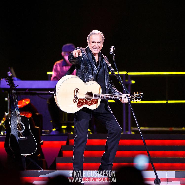 WASHINGTON, DC - May 25, 2012 - Neil Diamond performs at the Verizon Center in Washington, D.C. (Photo by Kyle Gustafson)