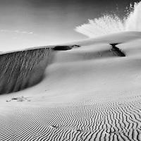 Sandboarding al atardecer en Los Algodones, Baja California