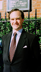 PRINCE MICHAEL DE LIGNE  at a christening in London on 3oth May 1997.LYX 48 MORO