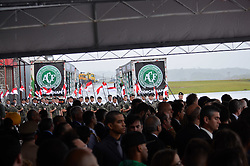 December 3, 2016 - Acontece hoje o sepultamento das vítima da tragédia da queda do avião da equipe Chapecoense em Cahpecà (Credit Image: © Nelson Andrade/Fotoarena via ZUMA Press)