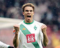 Fotball , 26. februar 2005, 1:0 Jubel Valerien Ismael  Werder Bremen<br /> Bundesliga SV Werder Bremen - VfL Bochum