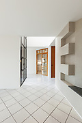 Architecture, Interiors of empty apartment, hall view