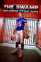 ©Tom DiPace Photography<br /> All Rights Reserved<br /> 561.968.0600<br /> Subject<br /> Tim  Tebow Florida Gators <br /> Shot in Ben Hill Griffen Stadium<br /> By Tom DiPace©