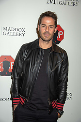 Jamie Redknapp at 'Shadowman' Richard Hambleton Private View and After Party hosted by Andy Valmorbida and Maddox Gallery, held at 26 Leake Street Tunnels, London SE1 England. 12 September 2018.