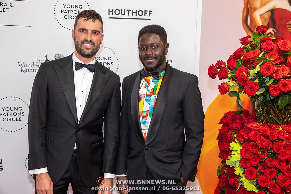 NLD/Amsterdam/20190628 - inloop International Young Patrons Gala 2019, Andre Dongelmans en .........