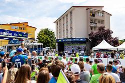 Jon ABERASTURI IZAGA of CAJA RURAL-SEGUROS RGA celebrates victory at trophy ceremony after 3rd Stage of 27th Tour of Slovenia 2021 cycling race between Brezice and Krsko (165,8 km), on June 11, 2021 in Slovenia. Photo by Matic Klansek Velej / Sportida